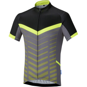 Shimano Climbers Maillot manches courtes Homme, neon yellow